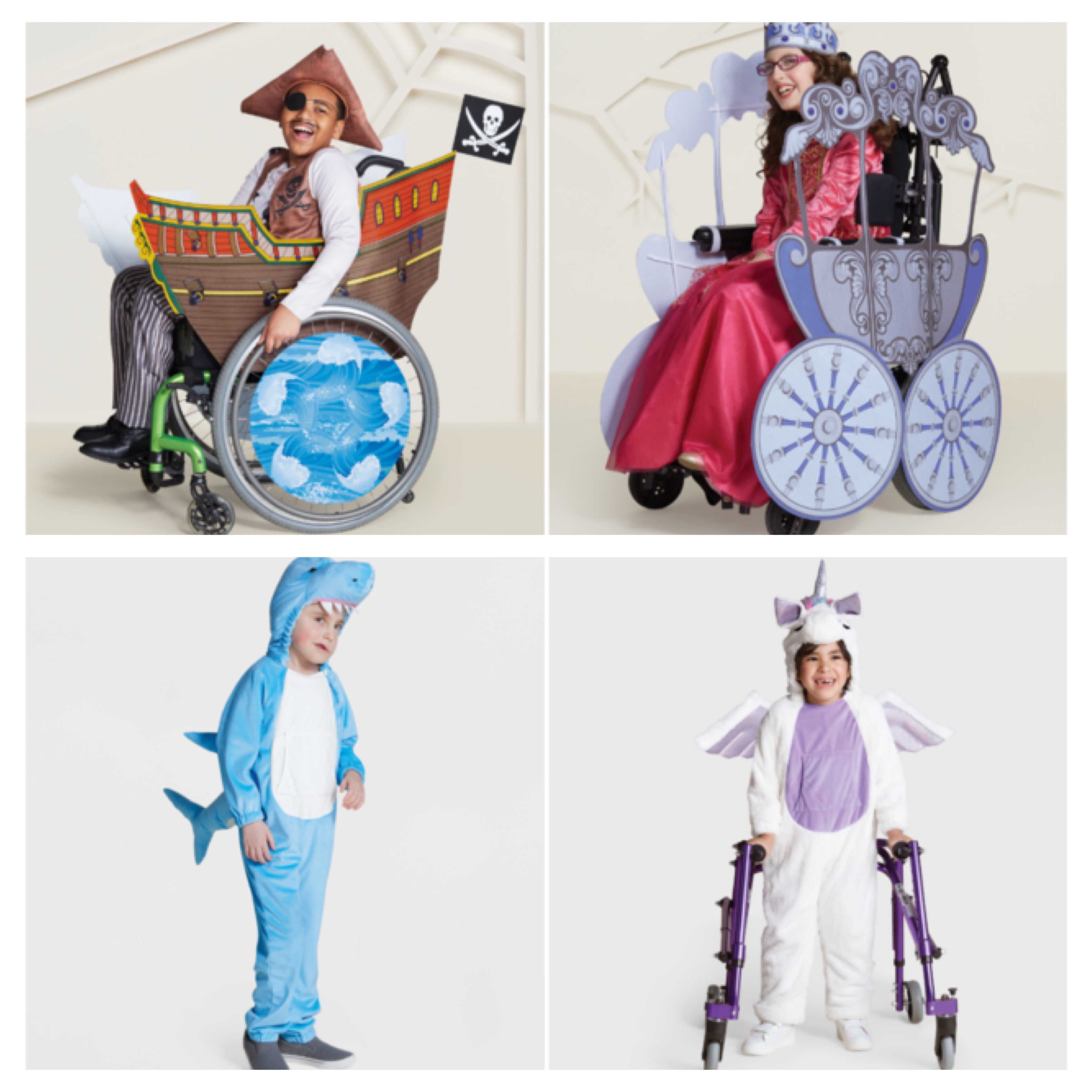 Halloween Costumes for those in wheel chairs, sensory sensitivity