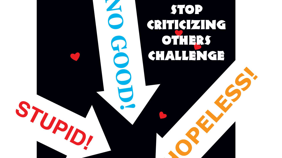 Stop Criticizing Others Challenge