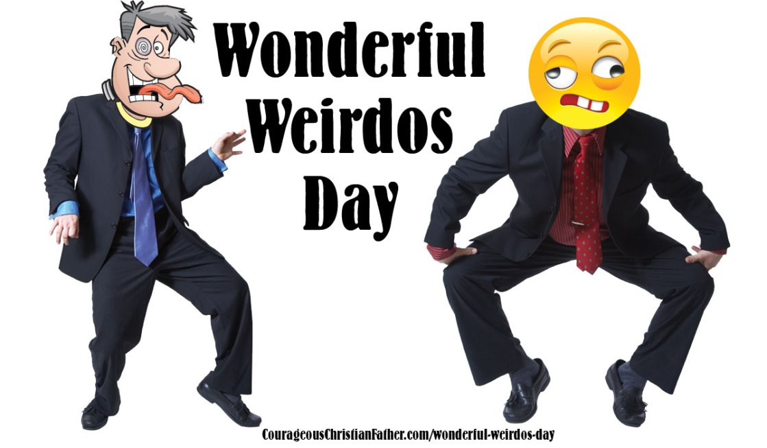 Wonderful Weirdos Day - a day that I can be a part of. I'm a wonderful weirdo. #WonderfulWeirdosDay