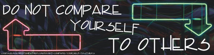 Do not compare yourself To others - If you do, you will always look down on yourself and/or others. We have to remember we are uniquely and wonderfully made by God. We are made different than everyone else! #BGBG2