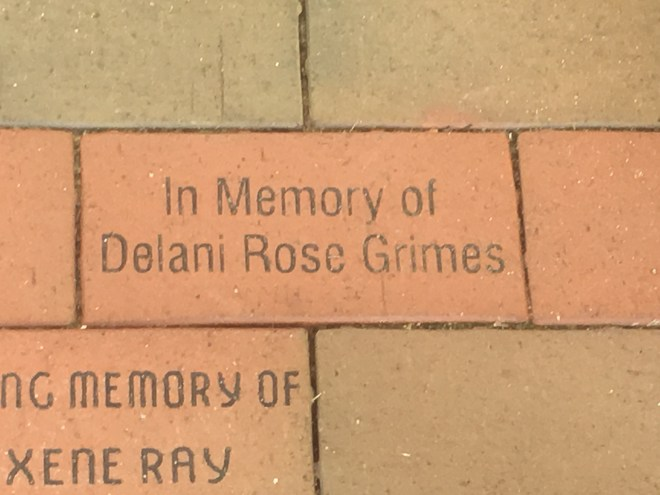 In Memory of Delani Rose Grimes
