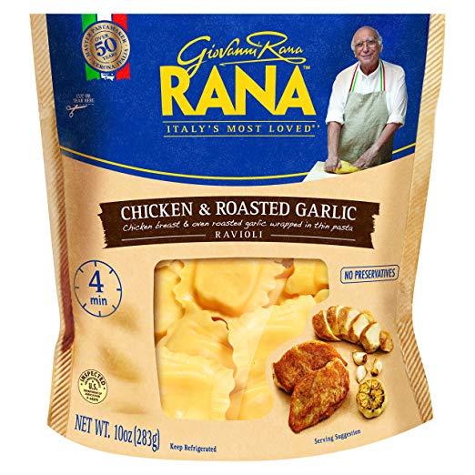 Pasta Day - GioVanni Roma Rana Chicken & Roasted Garlic Ravoili