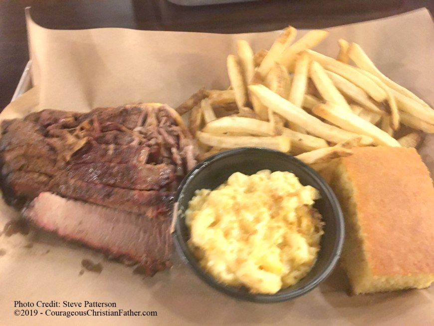 Beef Brisket - Mission BBQ - This is this weeks Travel Thursday feature. I share about my experience at Missionary BBQ in Chattanoga, TN. #MissionBBQ