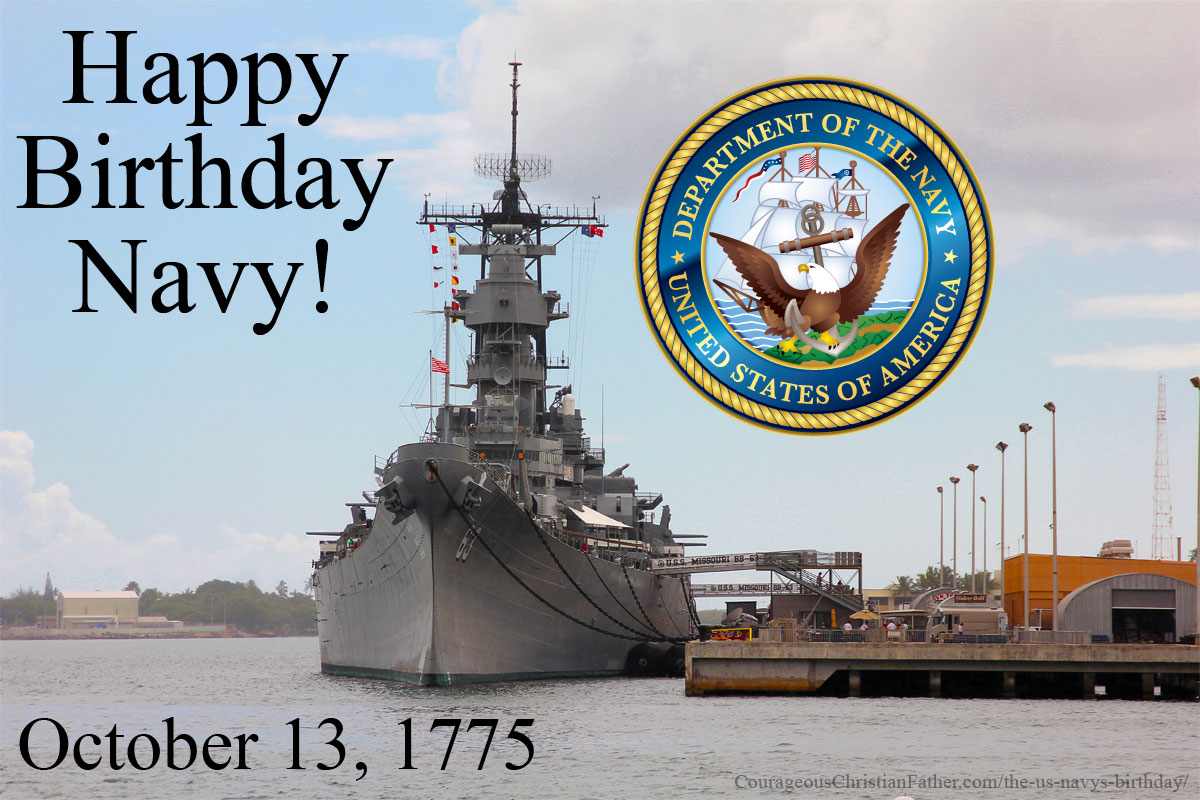 The US Navy's Birthday