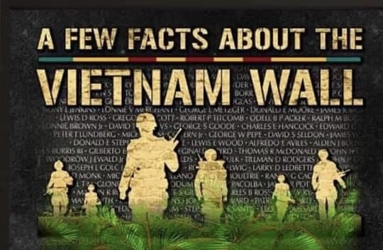 Facts about the Vietnam Wall