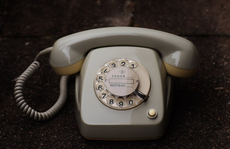 A long time ago, in the days before mobile phones, we …
