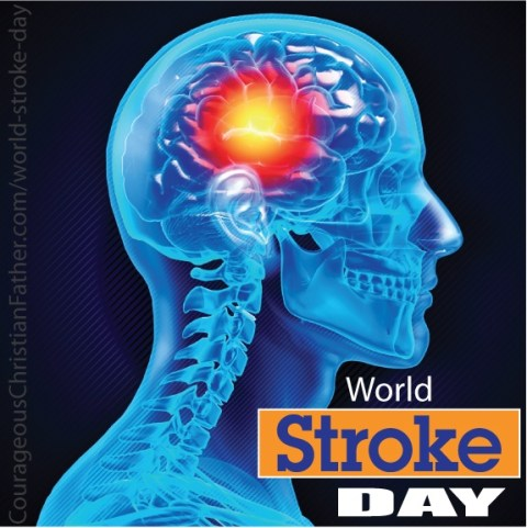 World Stroke Day - An awareness day to raise awareness about stroke and its dangers. #WorldStrokeDay #StrokeDay #DontBeTheOne