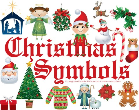 Christmas Symbols - This is a list of Christmas Symbols that we know of and see around Christmas Time. #ChristmasSymbols