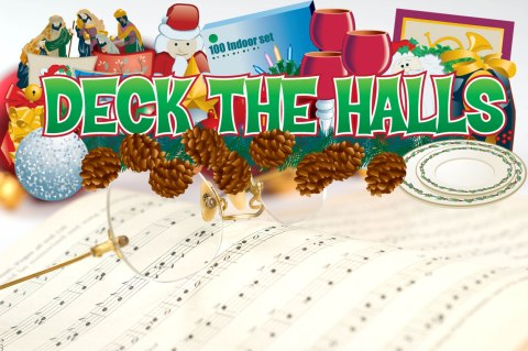 "Christmas carol spotlight: Deck the Halls - ""Deck the Halls"" is a favorite among Christmas celebrants who love to ""fa la la."" #DecktheHalls"