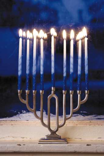 Menorah for Hanukkah