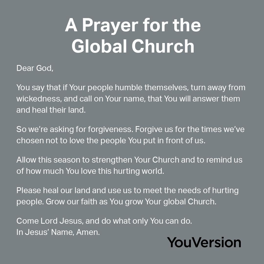 A Prayer for the Global Church