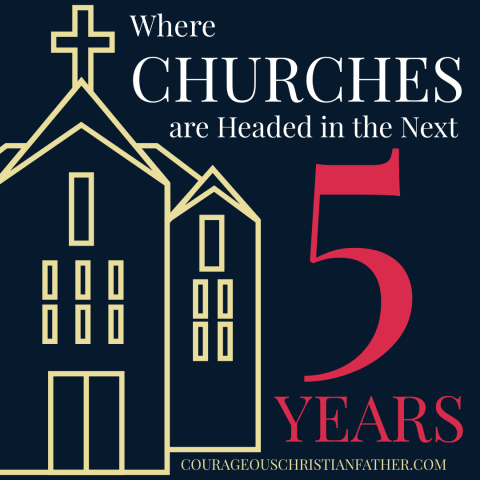 Where Churches are Headed in the Next Five Years - Here is an idea of what churches might look like in five years. This is just an idea!