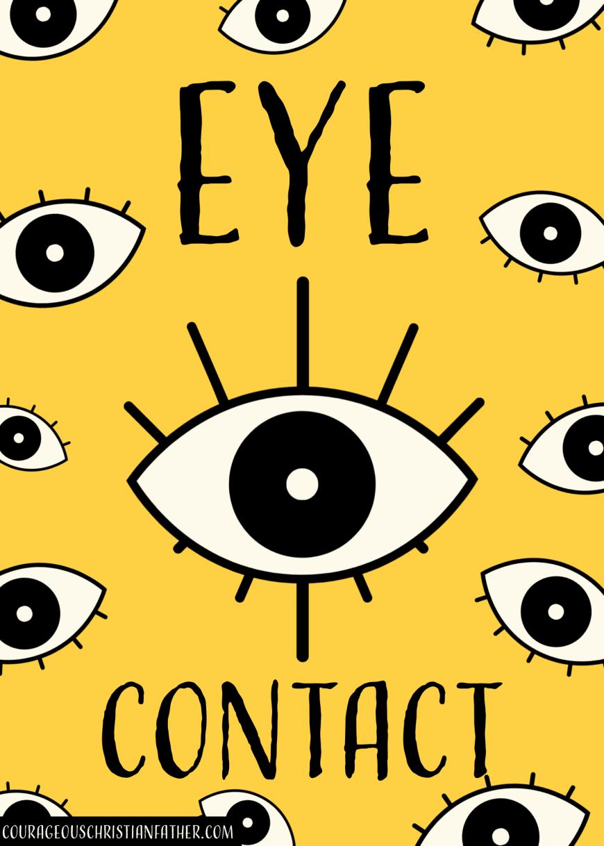Eye Contact #EyeContact