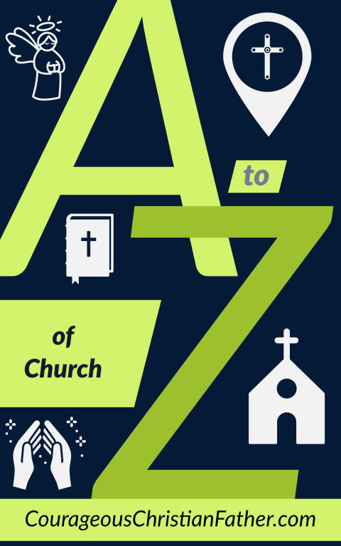 The A-Z of Church - This is an alphabet list from A to Z about the Church. Taking one letter and sharing something about the church with that letter starting at A and going to Z. #Church