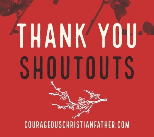 Thank You Shoutouts - Here are shoutout Thank You Graphics that I made to thank many different people. I am sharing them on my social media and now on this blog post! #ThankYou