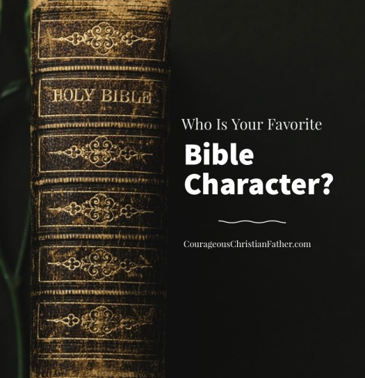 Who is your favorite Bible Character? So I went out on social media and asked the followers who their favorite Bible Character is and here are the answers that I got.