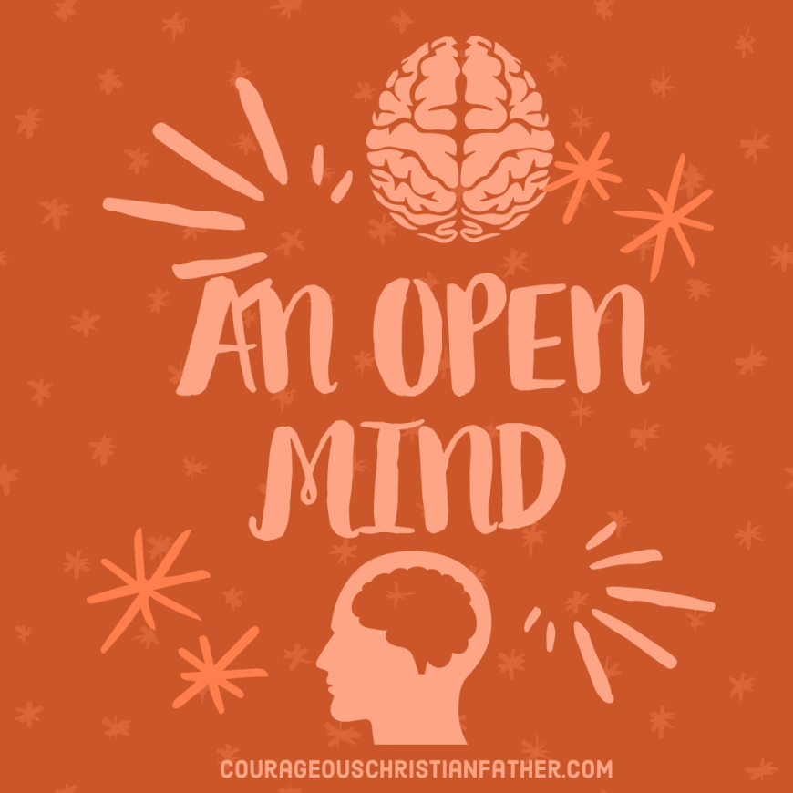 An Open Mind Will Cause … If we keep an open mind something could happen according to a church sign I saw. #OpenMind