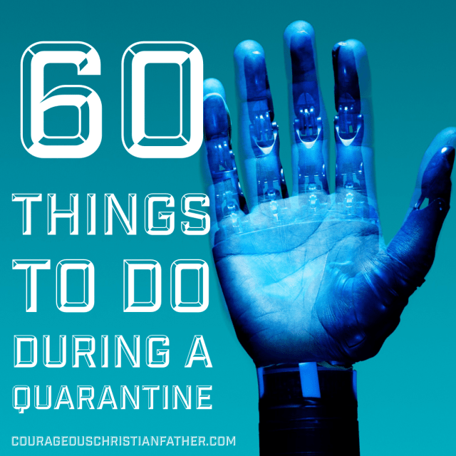 60 Things To Do During A Quarantine - Here is a compiled list of things you can do during a quarantine. #Quarantine What else can we add?