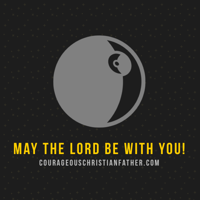 May the LORD be with you!