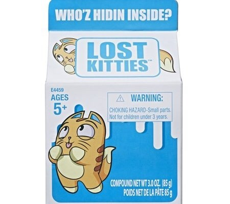 Lost Kitties Review - This is our take on the toy. Lost Kitties is a toy that comes with a tiny cat figurine, 2 accessories and compound putty. #LostKitties