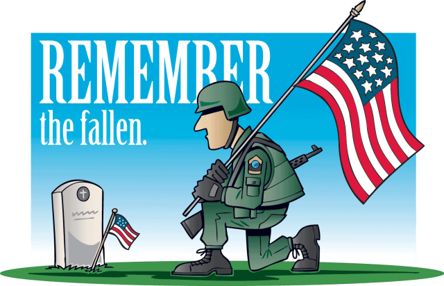 Memorial Day Prayer of the Day - Today's prayer is a specific prayer because it is Memorial Day, so it is a prayer for those fallen. #MemorialDay #PrayeroftheDay