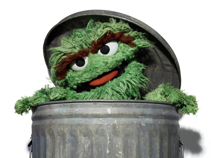 Oscar The Grouch Day - This is the day Sesame Street characters found out when his birthday way. #Oscar #OscartheGrouch #OScartheGrouchDay