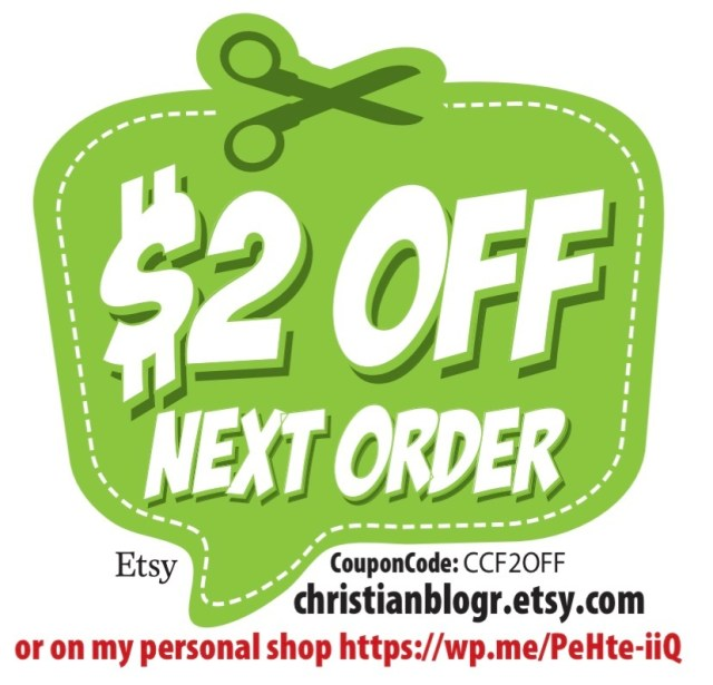 $2 off coupon code for my Etsy shop and blog shop,. Face Masks for sell coupon.