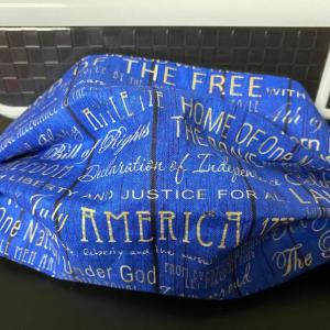 American Phrases Face Mask
