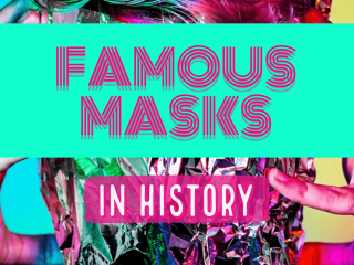 Famous Masks in History - in History masks have been used even in movies and TV shows. Here is a list of famous masks. #FamousMasks