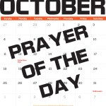 October Prayer of the Day