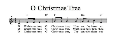 "Christmas Carol Spotlight: O Christmas Tree - The history of and lyrics to ""O Christmas Tree."" ChristmasTree"