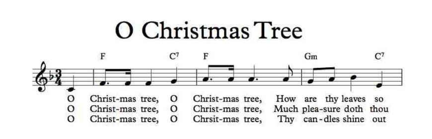 "Christmas Carol Spotlight: O Christmas Tree - The history of and lyrics to ""O Christmas Tree."" #ChristmasTree #OChristmasTree"
