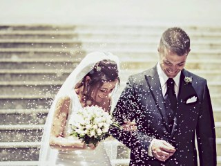 Why was rice thrown at a wedding? - Rice use to be thrown at a wedding after the man and the woman got married. But, why rice? Wait! Isn't rice bad for birds? #Rice