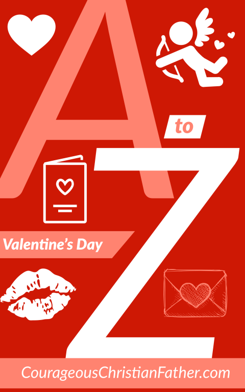 A-Z of Valentine's Day - A list of things relating to Valentine's Day from the letter A to the letter Z. #ValentinesDay #Valentines