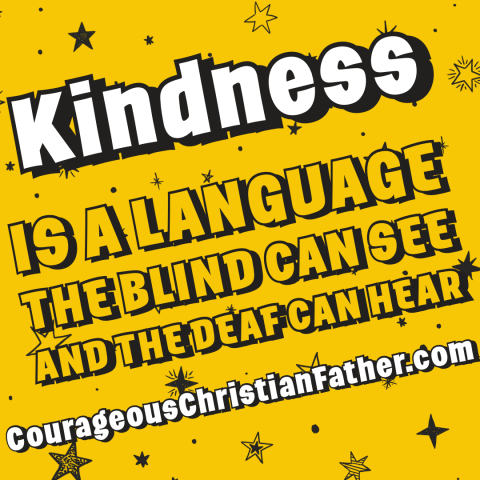 Kindness is a language the blind can see and the deaf can hear - Kindness can be seen and heard by everyone regardless if they are blind or deaf. #Kindness #Blind #Deaf