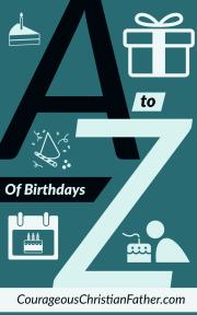 A-Z of Birthdays