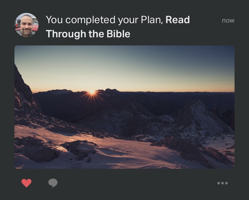 Read through the Bible Plan - a YouVersion Bible App reading plan that will allow you to read the whole bible in one year. #YouVersion #Bible