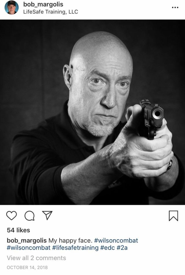 Photo of Republican legislative candidate brandishing a gun elicits criticism from Democrats in 19th House District race