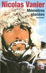 couverture Nicolas vanier mémoires glacées