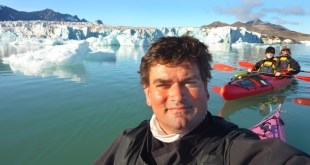 Pierre Fijalkowski en kayak