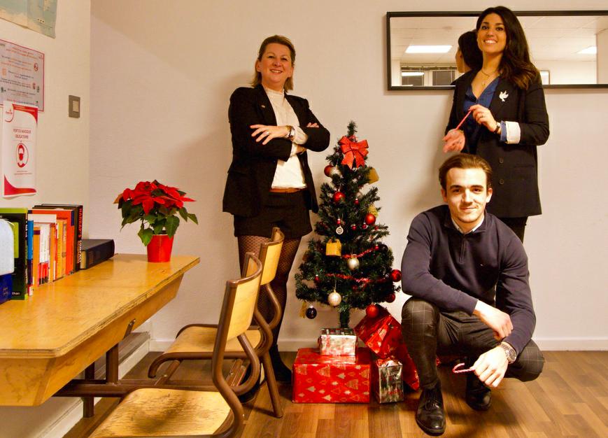 equipe cours particuliers lyon Noël