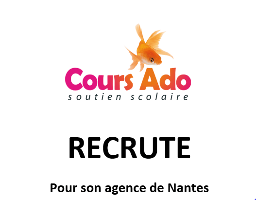 Recrutement professeur particulier Nantes