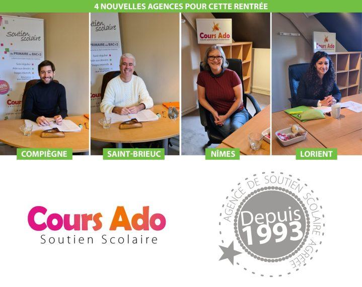 Bonne rentrée à tous nos franchisés Cours Ado !