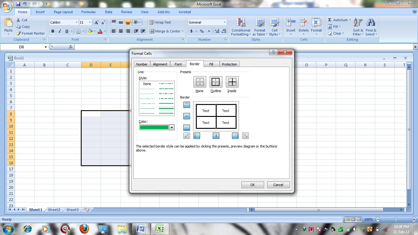 Spreadsheets Excel Lessons Intermediate