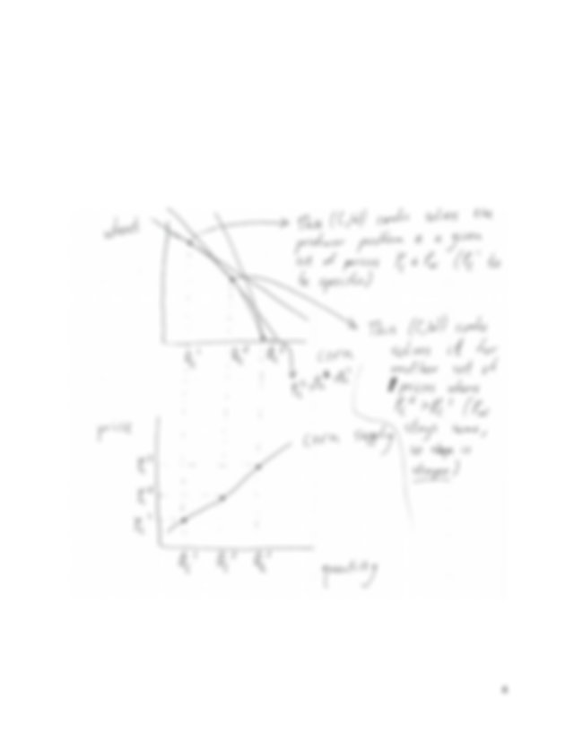 With the new demand curve the equilibrium price for a