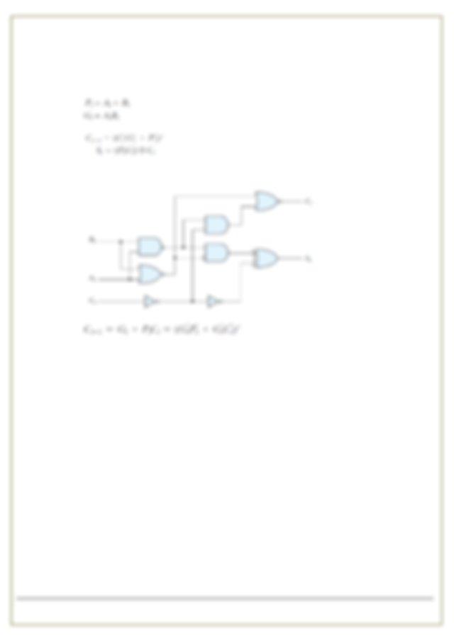 Design a four bit combinational decrementer a circuit that