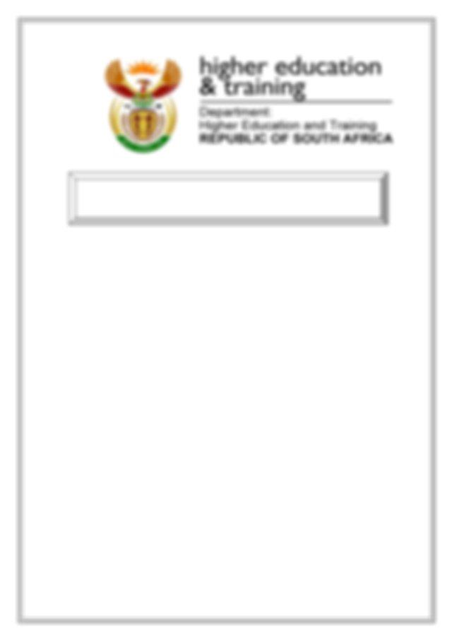N4 Entrepreneurship and Business Management Paper 2