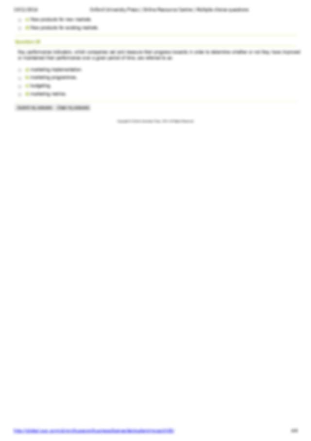 Oxford University Press Online Resource Centre Multiple