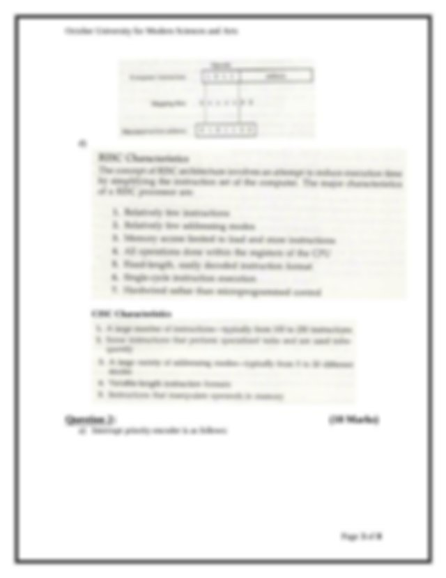 ESE446_Computer systems_Model Answer_Final Exam_Fall 2014