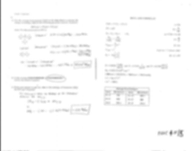 General Chemistry Final Exam Sample (answers) (2